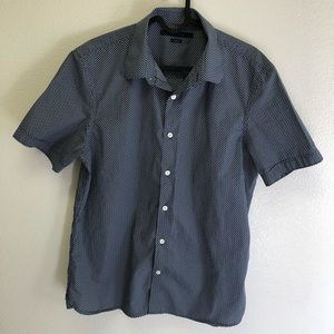 Perry Ellis Short Sleeve Dress Shirt